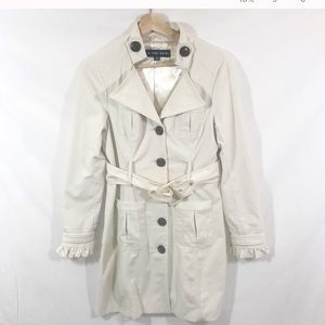 Blanc Noir l Cream Colored Trench Coat